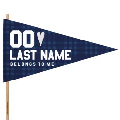 Last Name Belongs To Me Flag
