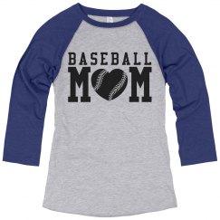 Cute Baseball Sports Mom Jerseys You Can Customize