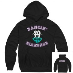 Blk Diamond Hoodie w/ Name