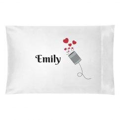 Emily pillowcase