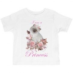 I Am A Princess Cat T Shirt