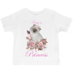 I Am A Princess Cat T Shirt