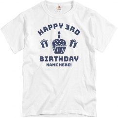 Custom Happy 3rd Birthday