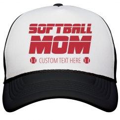 Custom Softball Mom Hat