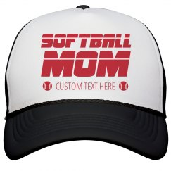 Custom Softball Mom Hat