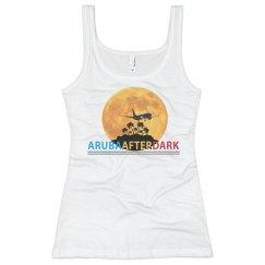 Aruba After Dark By KAD   Womens Basic Fit Tank