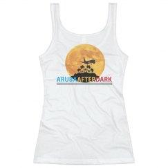 Aruba After Dark By KAD   Womens Basic Tank Back Logo