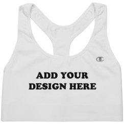Create Your Own Sports Bra Design