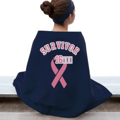Breast cancer 2016 survivor