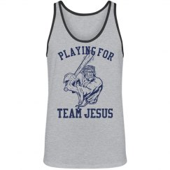 Playing for Team Jesus