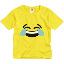 Laugh Emoji Kids Halloween Costume