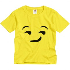 Sly Emoji Kids Halloween Costume
