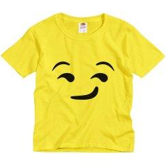 Sly Emoji Kids Halloween Costume