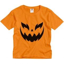 Spooky Pumpkin Kids Shirt Costume
