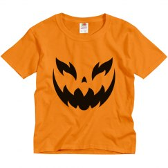 Spooky Pumpkin Kids Shirt Costume