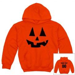 Easy Warm Pumpkin Kids Costume