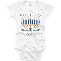 Custom Name Hanukkah