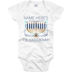 Custom Name Hanukkah