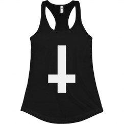 Reverse White Cross