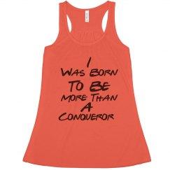 Conqueror Flowy Lightweight RacerBack Tank (Orange)