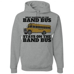 Marching Band Bus Secrets Funny Hoodie