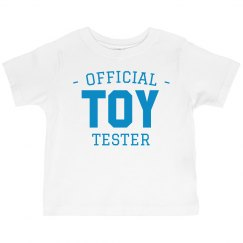 Official Toy Tester Toddler