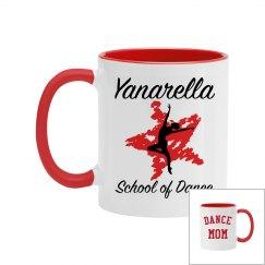 Yanarella Dance Mom Ceramic Mug