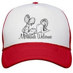 Mermaids welcome cap