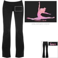 Pink Glitter Dancer