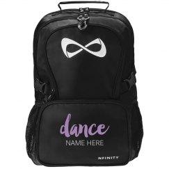 Metallic Custom Dance Backpack