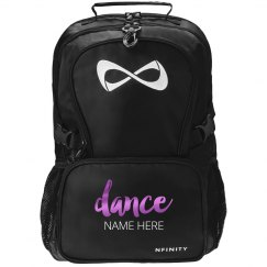 Metallic Custom Dance Backpack