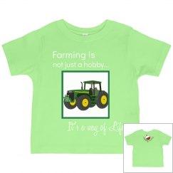 Farming is