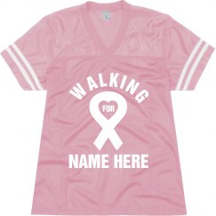 Breast Cancer Ribbon Top