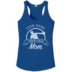 Customizable Track & Field Mom