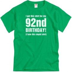 92nd Birthday