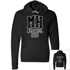 MOHITZ HOODIES (BLACK & WHITE LETTERS)