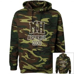 MOHITZ HOODIE (CAMOUFLAGE/BROWN L)