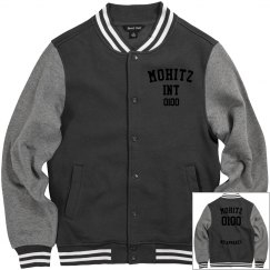 MENS LETTERMAN(BLACK LETTERS)