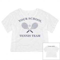 Custom Tennis Team