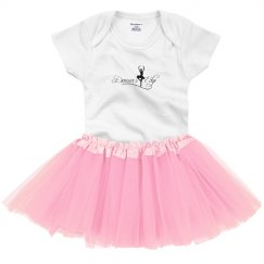 Adorable infant tutu onesie