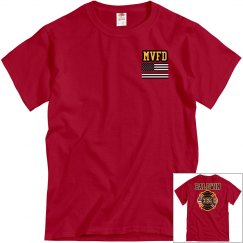 Fire Department Tee - Red