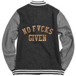 No fvcks given varsity