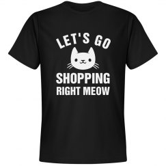 Black Friday Shopping Cat
