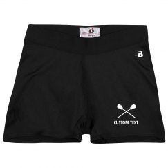 Custom Lacrosse Team Compression Shorts