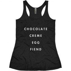 Chocolate Creme Egg Girl