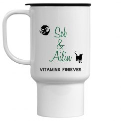 Vitamins Forever Travel Mug