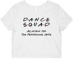 Ladies Dance Squad Crop Top APA