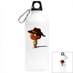 LITTLE K. ALUMINUM WATER BOTTLE