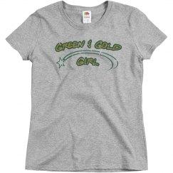 Green & Gold Girl (Vintage)