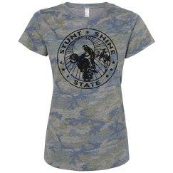 pink camo #StuntShineState logo front